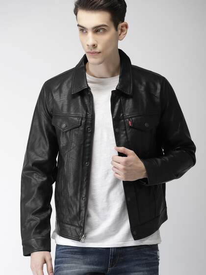 cd4347df76 Levis. Men Solid Biker Jacket