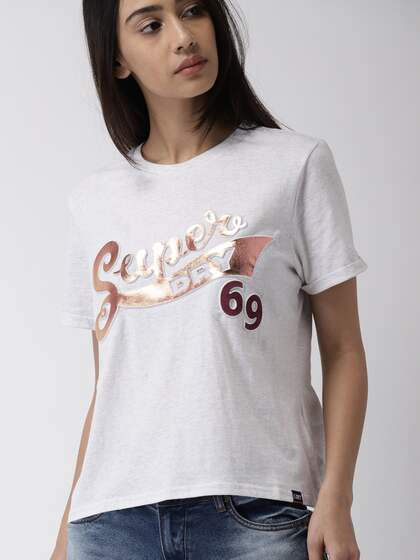Superdry. Printed Round Neck T-shirt e8ad21f283c1