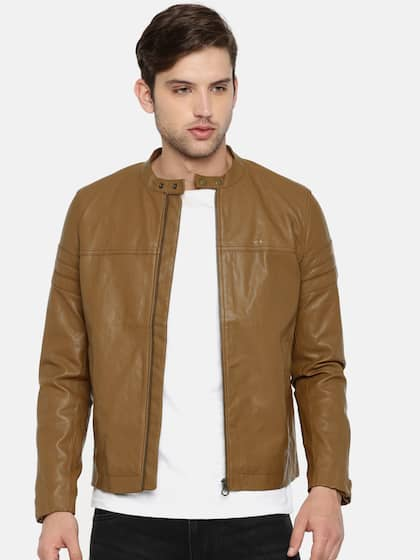 e18da0a6e0 Jackets - Buy Leather Jackets, Denim Jackets for Men & Women - Myntra
