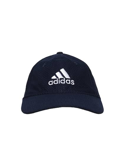 fadb3d99d52ad ADIDAS Men Navy Blue Self Design C40 Climacool Baseball Cap