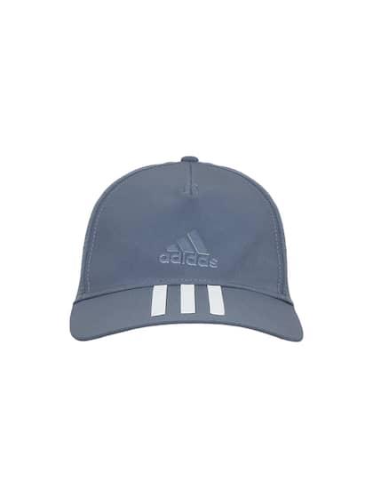 Onesize. ADIDAS Men Grey Solid C40 3 Stripes Climalite Baseball Cap 3a725e6b756d