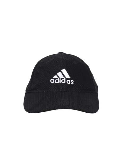 2b6a764a7c7c2 ADIDAS Men Black C40 6P Climacool Self-Design Training Cap