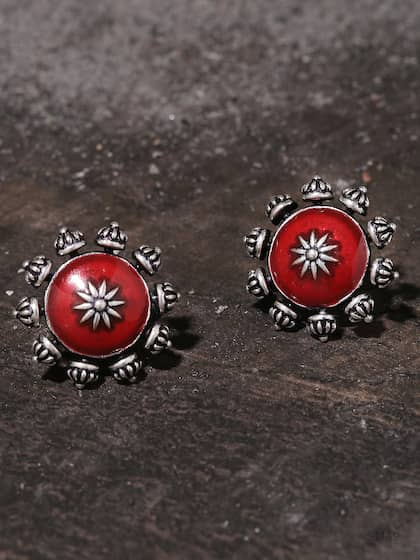 188823ccc515b Stud Earrings - Buy Stud Earring Online in India | Myntra