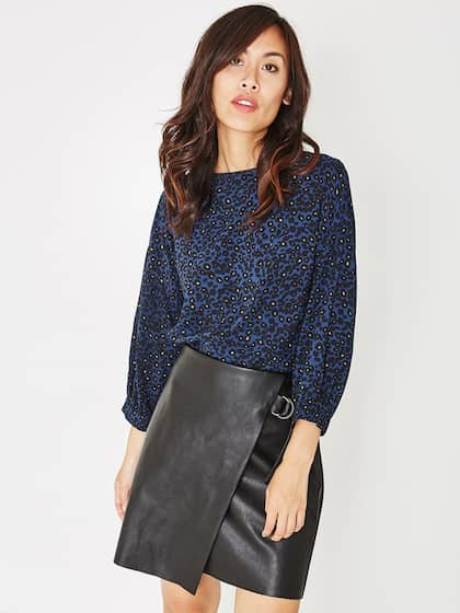 404e4113570cb Leather Skirts - Buy Leather Skirts online in India
