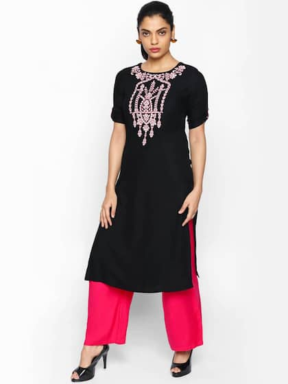 c716c2545ce Black Kurtis - Buy Black Kurti Online at Best Price