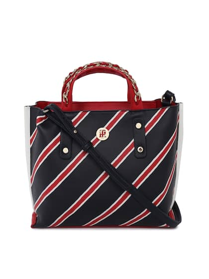 Tommy Hilfiger Striped Handheld Bag