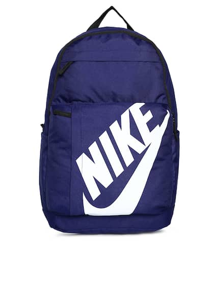 Nike Unisex Blue Brand Logo Backpack fee782b45