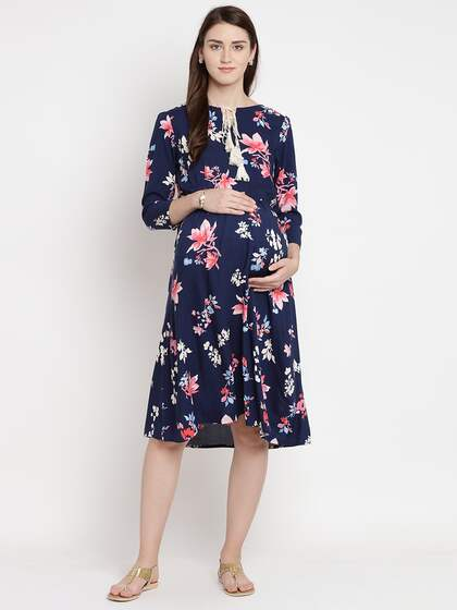 Maternity Dresses Buy Pregnancy Dress Online In India Myntra