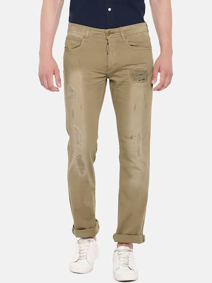 eb9e3aff5cc Jack & Jones. Khaki Mid Rise Regular Fit Jeans ...