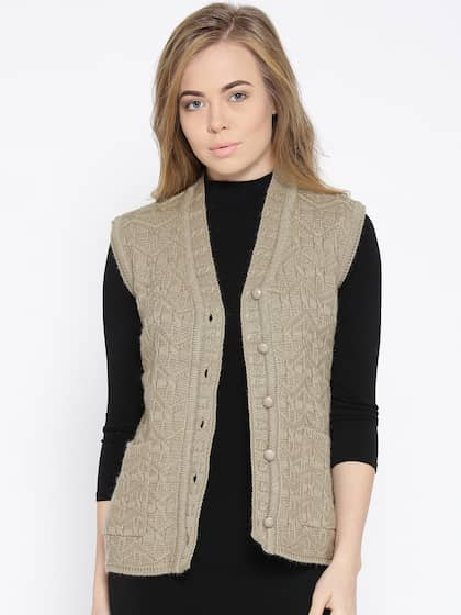 ce9cb65a74352 Sleeveless Sweaters - Buy Sleeveless Sweaters Online in India at ...