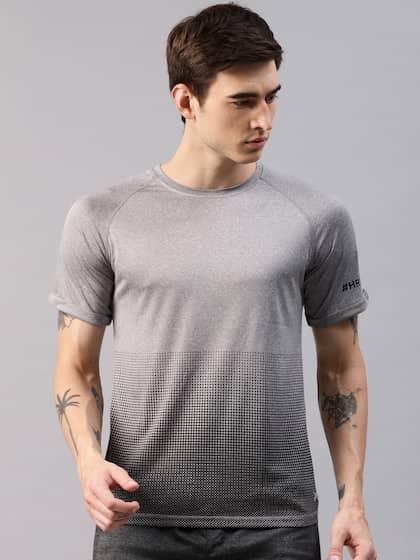 a9db4b270bb543 HRX by Hrithik Roshan. Men Printed Round Neck T-shirt