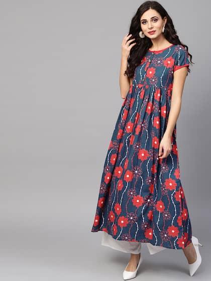 Floral Kurtas - Buy Floral Kurtas online in India 7a0babac5