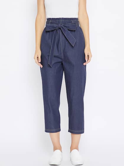e173a377 Women's Trousers - Shop Online for Ladies Pants & Trousers in India ...