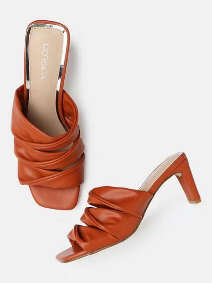 8102081c1fe Red Heels - Buy Red Heels Online in India