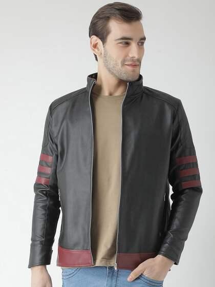 Biker Jackets Buy Biker Jacket Online In India Myntra