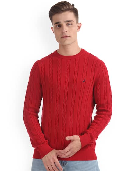 Nautica. Men Solid Sweater