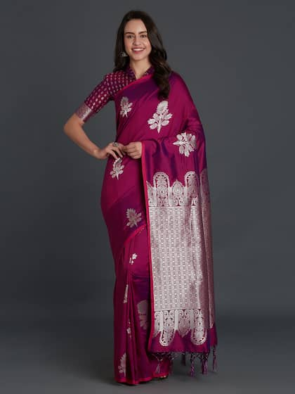Bridal Saree Buy Designer Bridal Sari Online Myntra