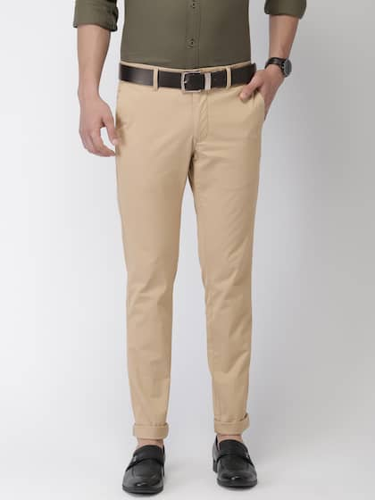 12b09e0689 Khaki Trousers | Buy Khaki Trousers Online in India at Best Price