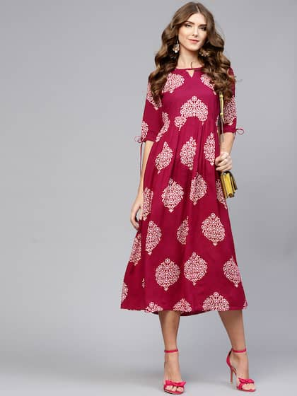 b615b5dcd9 One Piece Dress - Buy One Piece Dresses for Women Online in India