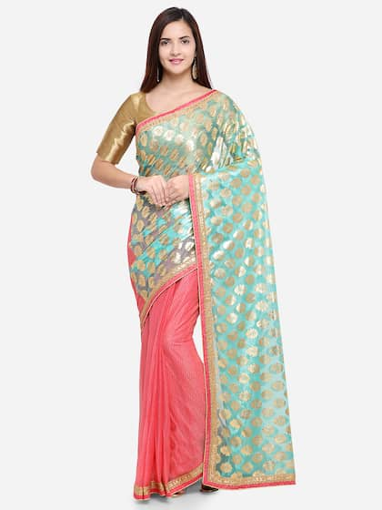 Net Sarees Buy Stylish Net Saree In India Online Myntra
