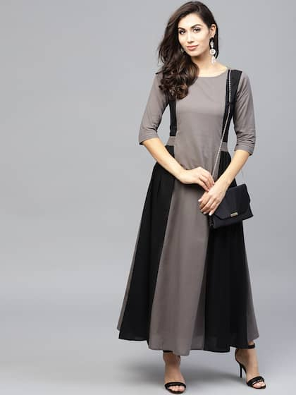 69fb81f817 Long Dresses - Buy Maxi Dresses for Women Online in India - Upto 70% OFF