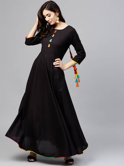 d870a11e47 Long Dresses - Buy Maxi Dresses for Women Online in India - Upto 70% OFF