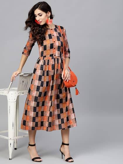 dc7c8f39bd Midi Dresses - Buy Midi Dress for Women   Girl Online