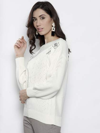 Sweaters for Women - Buy Womens Sweaters Online - Myntra 6ccd2140a