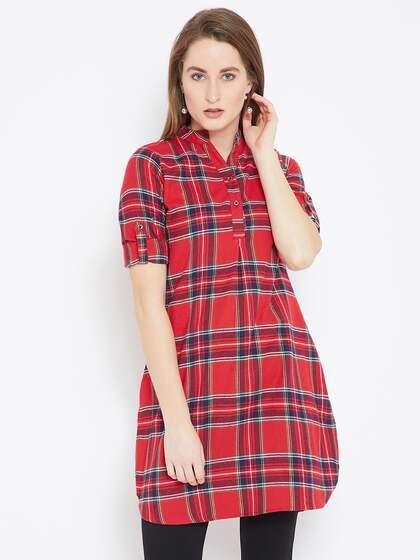 32b08116f41 Women Dress Material Tunics - Buy Women Dress Material Tunics online ...