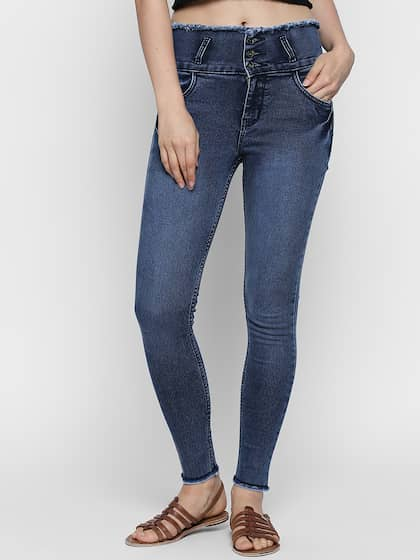 7a040607d64 High Waisted Jeans - Buy High Rise Jeans For Men & Women Online