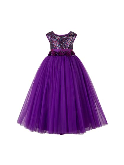 Toy Balloon kids. Girls Self Design Fit and Flare Dress cacca826d7d3