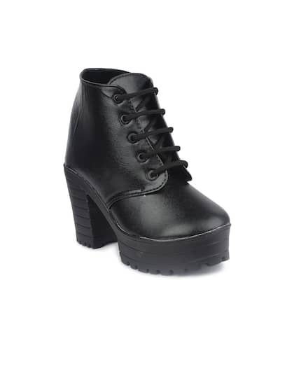 54483e3797c87 Womens Boots - Buy Boots for Women Online in India | Myntra