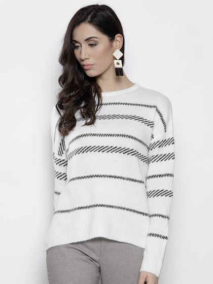 06e7fe12a7a8 Sweaters for Women - Buy Womens Sweaters Online - Myntra