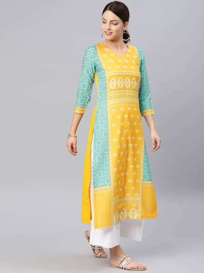 fd39cadb088 Kurtis Online - Buy Designer Kurtis   Suits for Women - Myntra