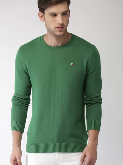 Tommy Hilfiger Green Sweaters - Buy Tommy Hilfiger Green Sweaters ... 44ef233cd7