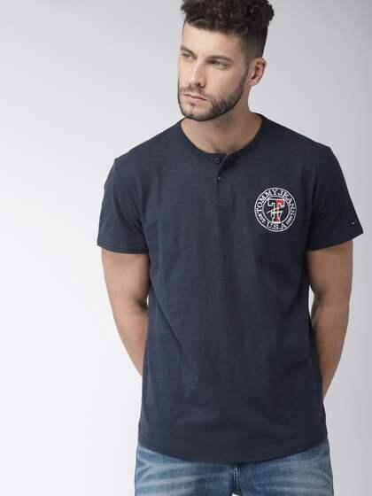 tommy hilfiger for sale, HILFIGER DENIM Print T shirt blue