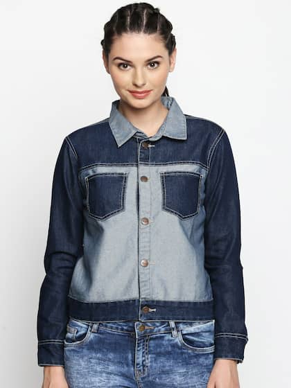 Women Denim Jacket Buy Women Denim Jacket Online In India