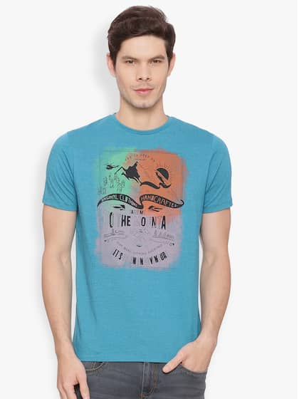 3b35a08a Basics T-shirt - Buy T-shirts from Basics Store Online | Myntra