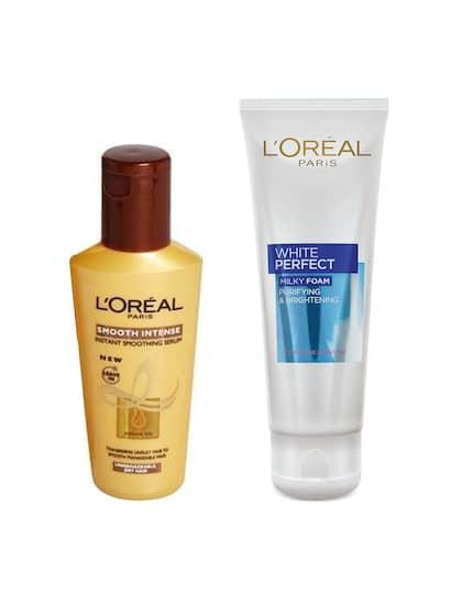 LOreal. Smoothing Serum & Face Wash