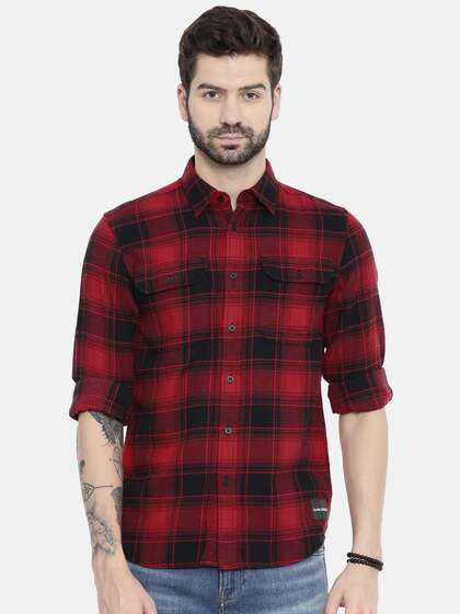 14120f4bc Shirts - Buy Shirts for Men, Women & Kids Online in India | Myntra