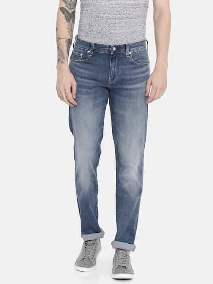 76ca9bd2 Slim Fit Jeans - Buy Slim Jeans Online in India | Myntra