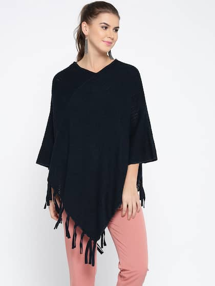 14a5ca3edf66 Poncho - Exclusive Poncho Online Store in India at Myntra