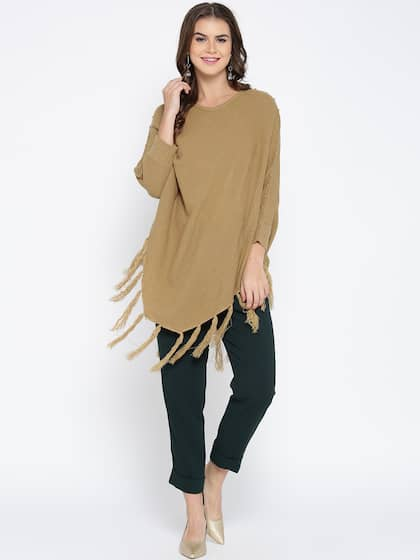 bba0bce7876 Poncho - Exclusive Poncho Online Store in India at Myntra