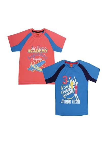 e700bf07 Dollar Champion Kidswear. Pack Of 2 Round Neck T-shirts