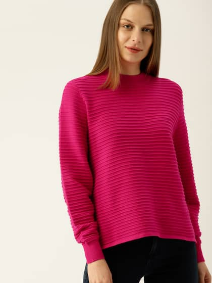 3413bbf287a Sweaters for Women - Buy Womens Sweaters Online - Myntra