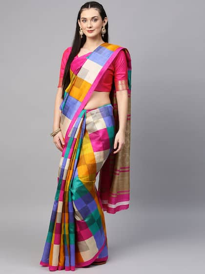 412713837ca Silk Sarees - Buy Pure Silk Saree Online in India   best price