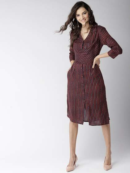 014d130114c Shirt Dress - Buy Shirt Dress online in India