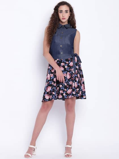 97f3c23b21a Denim Dresses - Buy Denim Dresses Online in India
