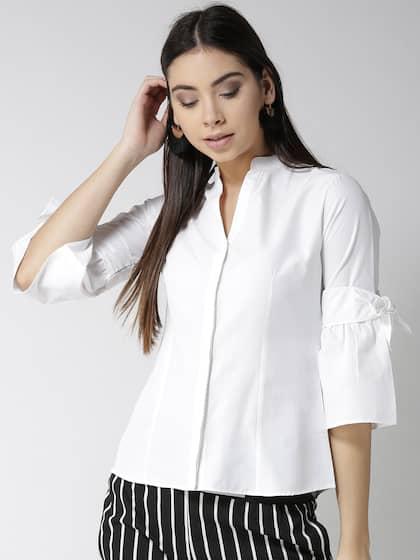 d408cfa37b5bea Women Shirts - Buy Shirts for Women Online in India   Myntra