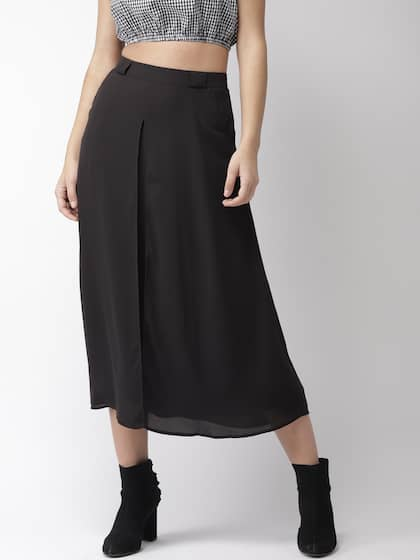 ff154f4575c1 Forever 21 Midi Skirts - Buy Forever 21 Midi Skirts online in India